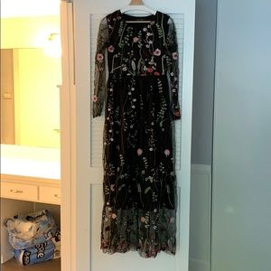 Chicwish Embroidered Dress